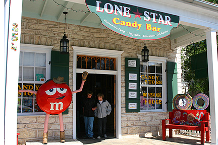 Lone Star Candy Store Fredericksburg Texas
