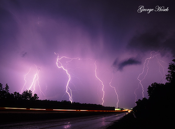 Lightning Humble Texas