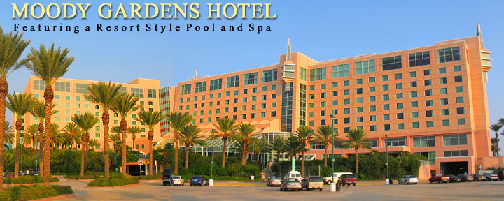 Moody Gardens Hotel Spa And Convention Center Galveston Tx