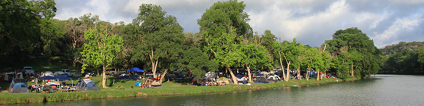 Camping River Road New Braunfels