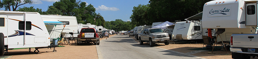RV Camping River Road