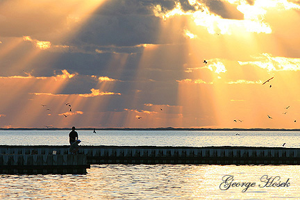 Photo #9, Fishermen Aransas Bay at Sunrise