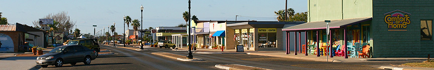 Austin Street Downtown Rockport